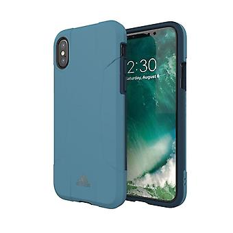 Adidas originals dual layer hard case for Apple iPhone X / XS 5.8 case Blue
