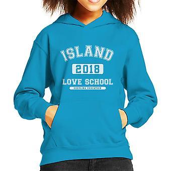 Kjærlighet øya 2018 par utdanning Academy barneklubb Hettegenser