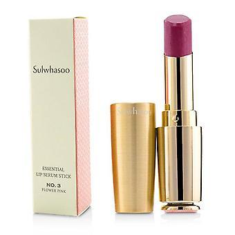 Sulwhasoo Essential Lip Serum Stick - # No. 3 Flower Pink - 3g/0.1oz