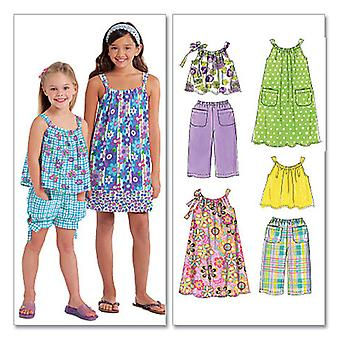 Children's/Girls' Tops, Dresses, Shorts and Pants-CCE (3-4-5-6) -*SEWING PATTERN*