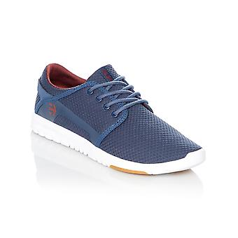 Etnies Navy-Red Scout Shoe
