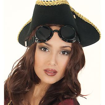 Welding goggles steampunk accessory prank construction workers