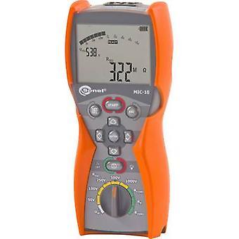 Tester izolacji sonel MIC-10 50 V, 100 V, 250 V, 500 V, 1000 V 10 GΩ skalibrowany do normy ISO