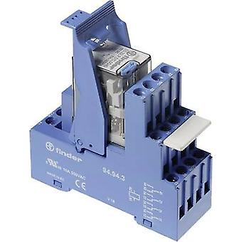 Finder 59.34.9.024.0050 7A Relay Interface Module 4 changeover 24 Vdc IP20