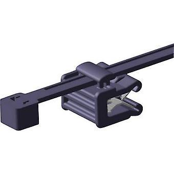 HellermannTyton 156-00011 T50ROSEC22-MC5-BK-D1 Kabelbinder 200 mm schwarz seitliche Bündelung 1 PC