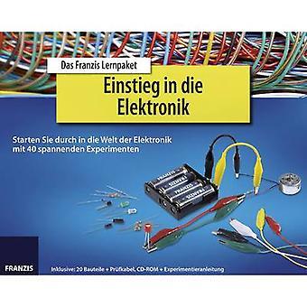 Course material Franzis Verlag Einstieg in die Elektronik 978-3-645-65196-7 14 years and over