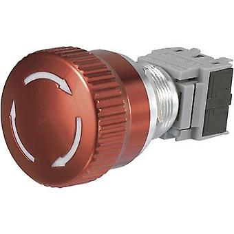 TRU COMPONENTS LAS1-BGQ-11TS Kill switch 250 V AC 5 A 1 breaker, 1 maker IP40 1 pc(s)