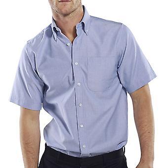 Click Oxford Short Sleeve Corporate Work Shirt - Oxsss