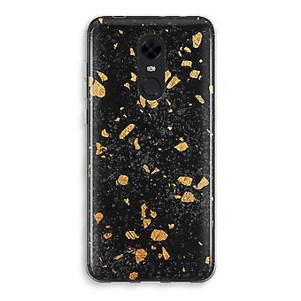 Xiaomi Redmi 5 Transparent Case - Terrazzo N°7