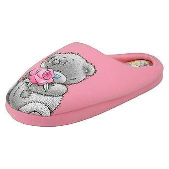 Ladies Me To You Slippers Tatty Teddy Rose