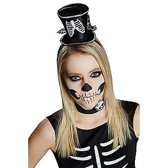 Skeleton cylinder headband