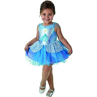 Vestido de bailarina Cenicienta disfraz Disney niña princesa rosa de carnaval de los niños hadas