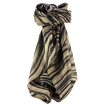 桑絹現代正方形スカーフ抽象 A309 パシュミナ ・ シルクで