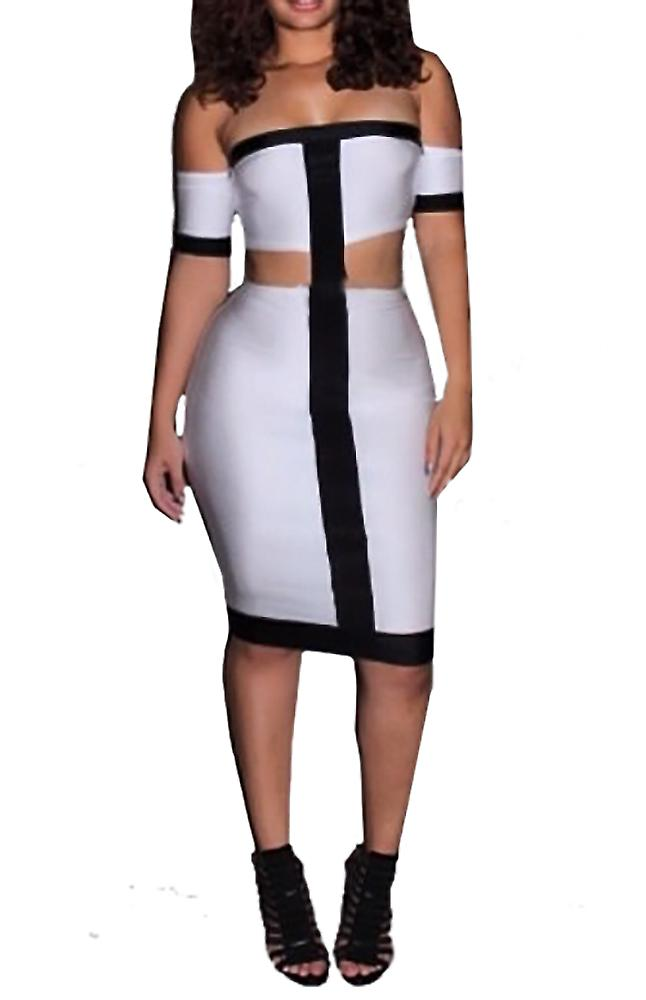 Waooh - Midi Dress perforated Vot