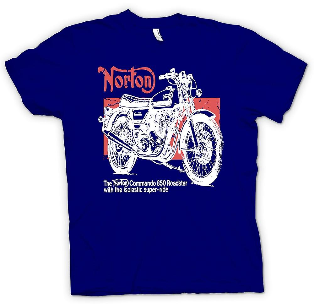 T-shirt Uomo - Norton Commando 850 Roadster