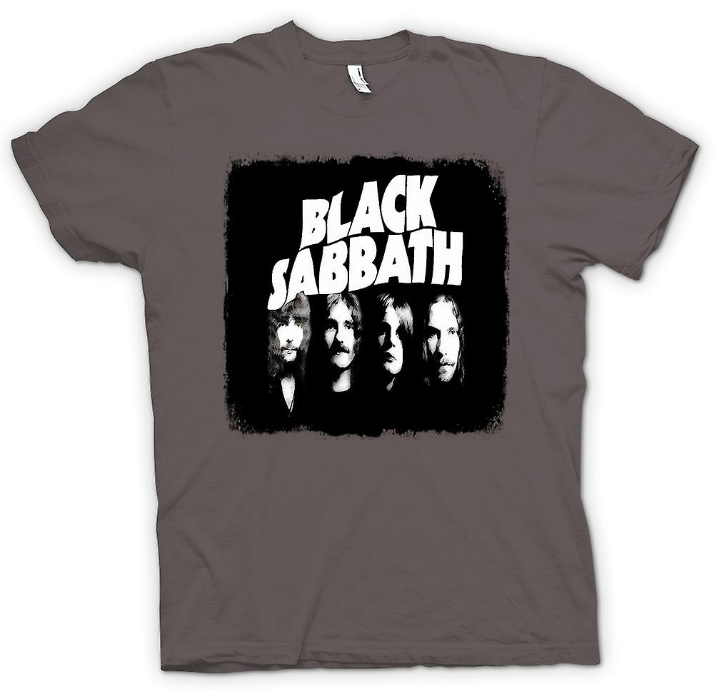 Mens t-shirt-Sabbath - Band - Heavy Metal