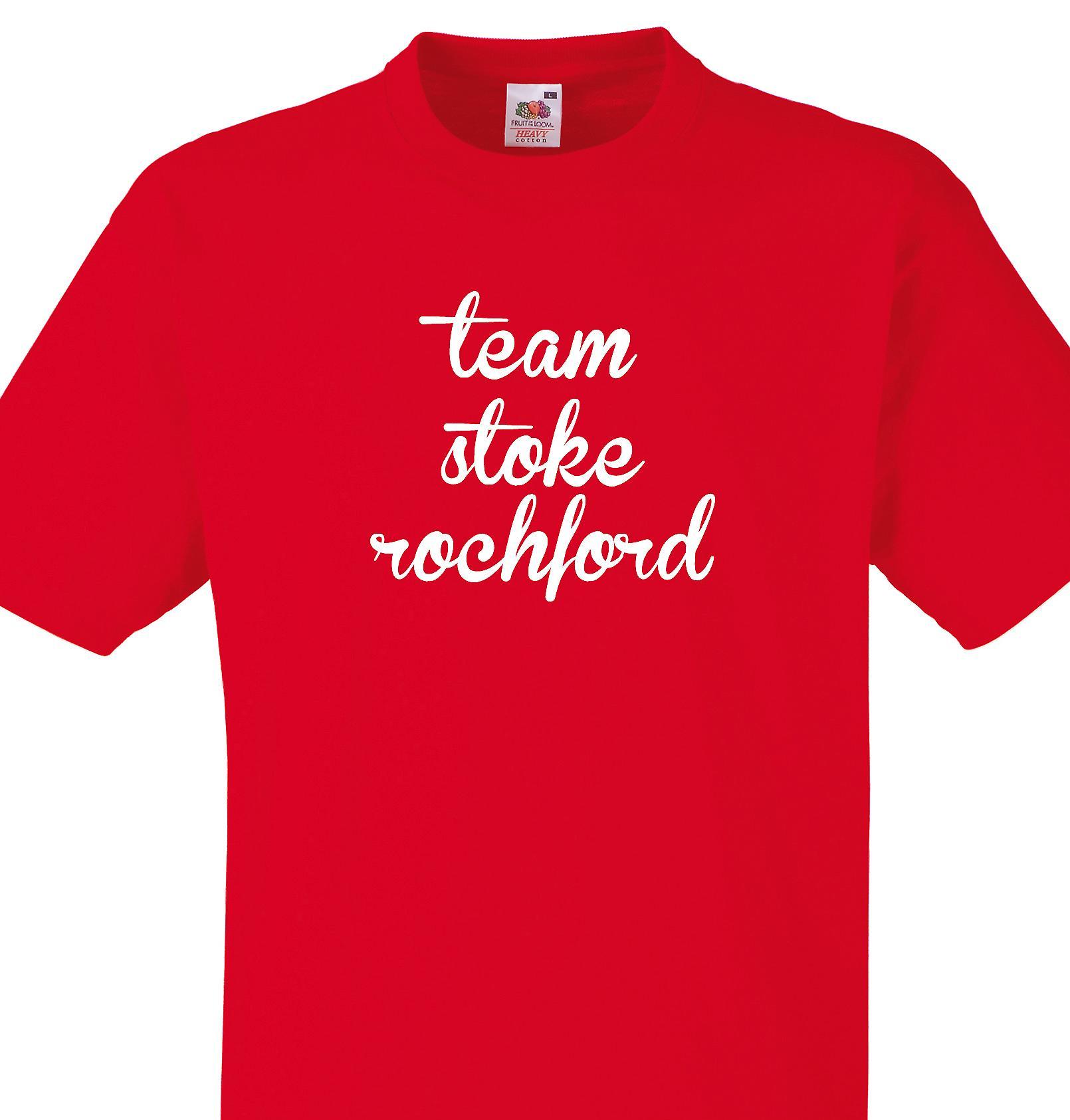 Team Stoke rochford Red T shirt