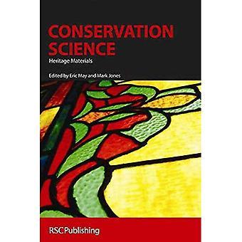 Science de la conservation: Patrimoine matériel (livres de poche RSC)