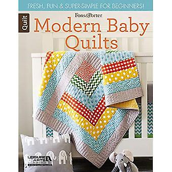 Fons & Porter Quilty Magazine Modern Baby Quilts: Fresh, Fun & Super-Simple for Beginners!