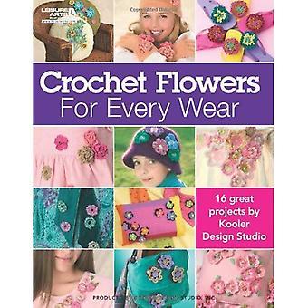 Crocheted Flowers For Every Wear