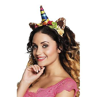 Unicorn hoofdband - Jungle Fancy Dress accessoire