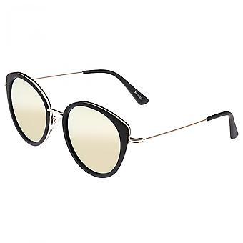 Bertha Sasha Polarized Sunglasses - Gold/Gold