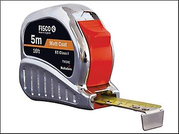 Fisco TMC5ME Chrome Tri-matic Tape 5m / 16ft (Width 19mm)