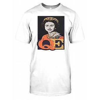 Królowa Elżbieta II młodszy męskie T Shirt