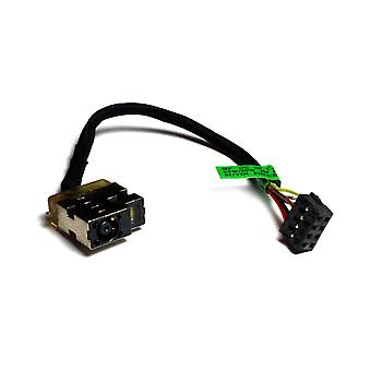 HP ENVY 14-k132TX Compatible Laptop DC Jack Socket With Cable