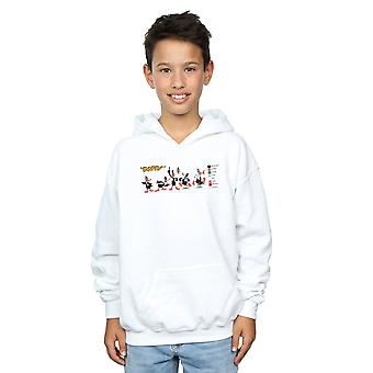 Looney Tunes Boys Daffy Duck Colour Code Hoodie