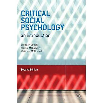 Critical Social Psychology - An Introduction (2nd Revised edition) by
