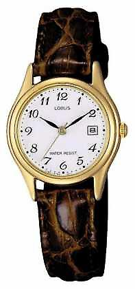 Lorus Brown Leather Strap RXT94AX9 Watch