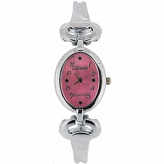 The Olivia Collection Ladies Pink Dial Bracelet Strap Dress Watch COS40