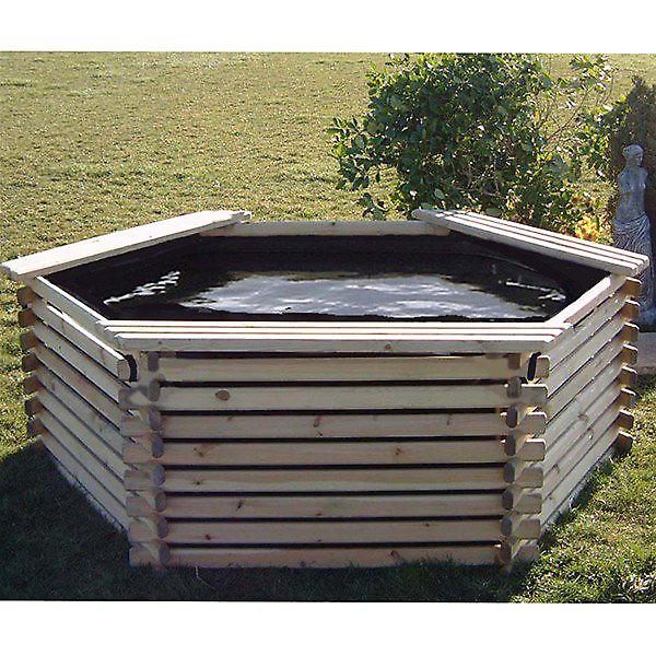 Norlog 400 Gallon Giant Garden Pool with Liner