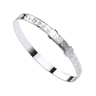 Eternity Sterling Silver Baby Expanding Rocking Horse Bangle