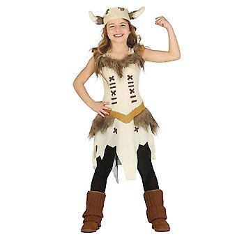 Costume de déguisements filles Viking Saxon