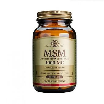 Solgar MSM 1000mg tablets 60 (1733)