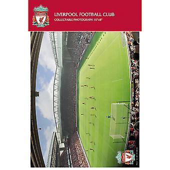 Liverpool Anfield Spieltag in Säcken fotografische Print 20x25cm