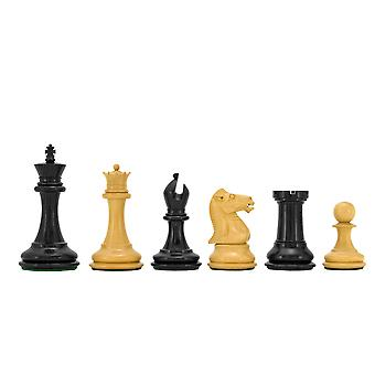 Sovereign Series Ebonised Boxwood Chessmen 3 Inches