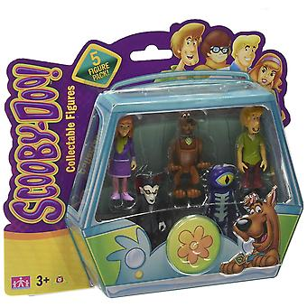 Pack de figurines Scooby Doo 5