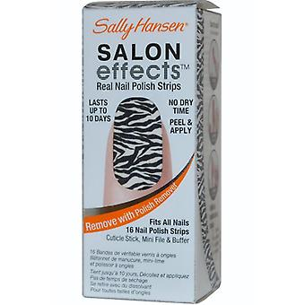 Sally Hansen Salon effekter Real Nail Polish Strips Wild Child (#310)