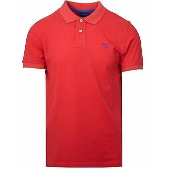 Gant GANT Blut Orange Polo Shirt