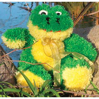 Huggables Frog Stuffed Toy Latch Hook Kit 14