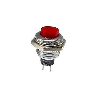 Pushbutton 250 Vac 1.5 A 1 x Off/(On) SCI R13-502MA-05RT momentary 1 pc(s)