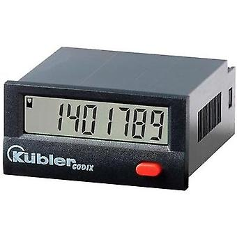 Kübler CODIX 140 Pulse counter Codix 140 Assembly dimensions 45 x 22 mm