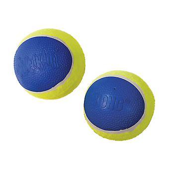 Kong Ultra Squeakair Ball Large 2pack
