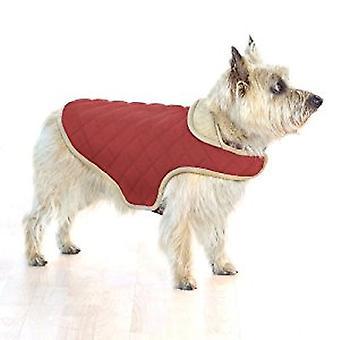 Dog Gone Smart Quilted Jacket Red 65.5cm (26