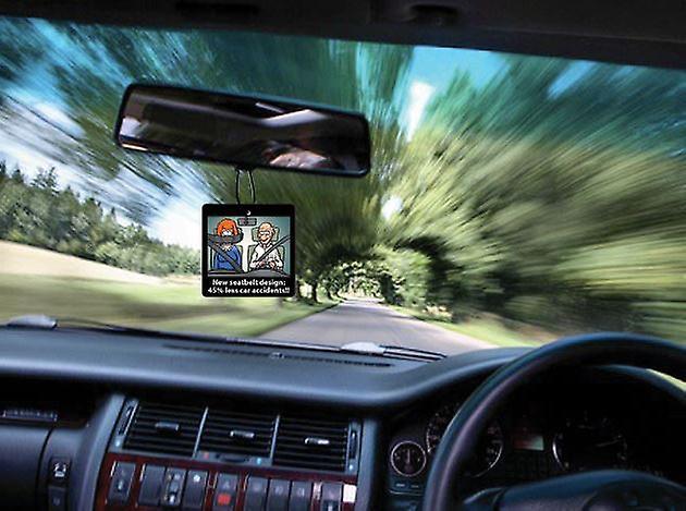 45% mindre bil olyckor bil luftfräschare