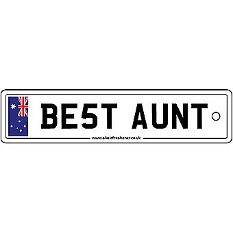 Australië - beste tante License Plate auto luchtverfrisser