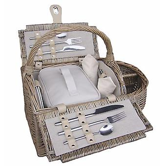 2 Person Boat Fitted Picnic Basket